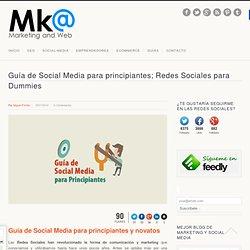 Guía de Social Media para principiantes; Social para Dummies