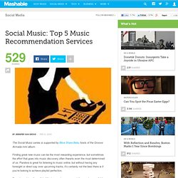 Social Music: Top 5 Music Recommendation Services