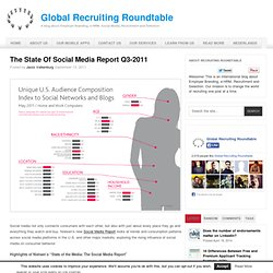 The State Of Social Media Report Q3-2011
