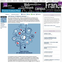 LIEN SOCIAL ET RÉSEAUX SOCIAUX - France Culture Plus