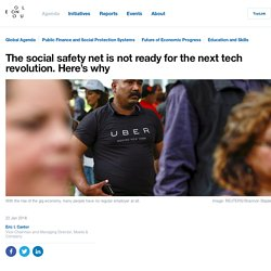 The social safety net is not ready for the next tech revolution. Here's why