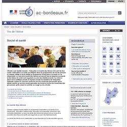 Social et santé - ac-bordeaux.fr