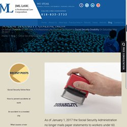 Social Security Online Now - jmllaw