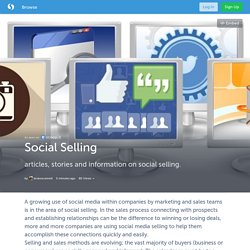 Social Selling (with images, tweet) · brianoconnell