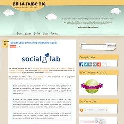 Social Lab: simulando ingeniería social