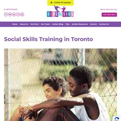 Social Skills Training Toronto