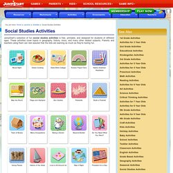 Social Studies Activities – Free Social Studies Activities for Kids