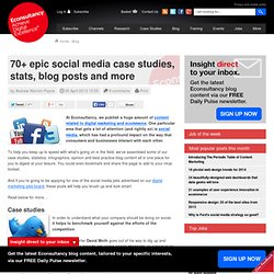 seven useful social media case studies from 2013