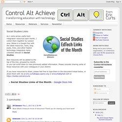 Social Studies Links