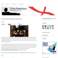 21 Free Social Media Tracking tools