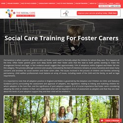 Social Care Training For Foster Carers