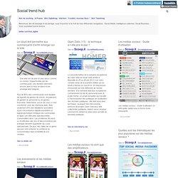 Social trend hub