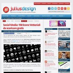Social Media: 150 Icone Vettoriali da scaricare gratis