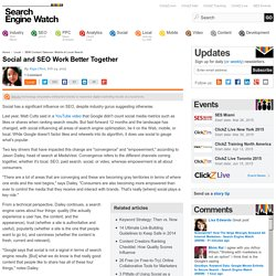 Social and SEO Work Better Together
