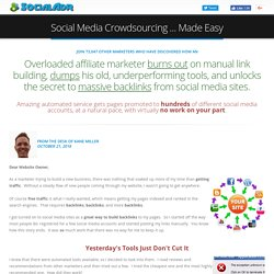 Social Bookmarking and Shares with Spintax Diversification -