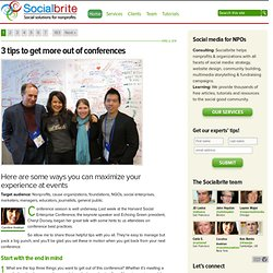 Social media consulting for nonprofits | Socialbrite