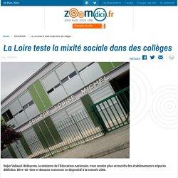 La Loire teste la mixité sociale dans des collèges sur zoomdici.fr (Zoom43.fr et Zoom42.fr)