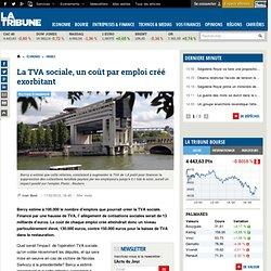 La TVA sociale, un coût par emploi créé exorbitant