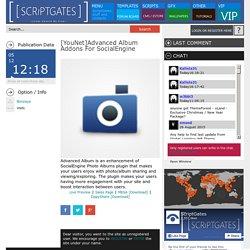 [YouNet]Advanced Album Addons For SocialEngine » Scriptgates