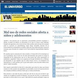 Mal uso de redes sociales afecta a niños y adolescentes - Viva
