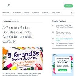 5 Grandes Redes Sociales que Todo Diseñador Necesita Conocer - Blog Oficial de Wix