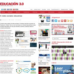 5 redes sociales educativas