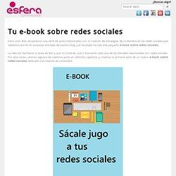 Tu e-book sobre redes sociales