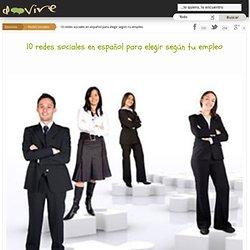 10 redes sociales en español para elegir según tu empleo
