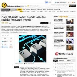 Nace el Quinto Poder: cuando las redes sociales mueven el mundo – Internet – Noticias, última hora, vídeos y fotos de Internet en lainformacion