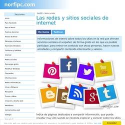 Las redes y sitios sociales más populares e importantes de internet