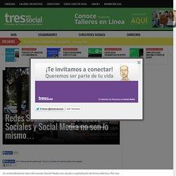 Redes Sociales, Sitio de Redes Sociales y Social Media no son lo mismo
