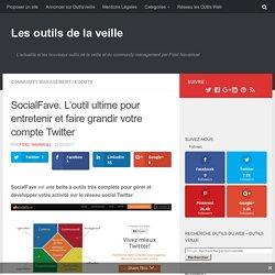SocialFave. L'outil ultime pour entretenir et faire grandir votre compte Twitter – Les outils de la veille