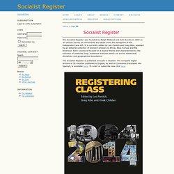 Socialist Register