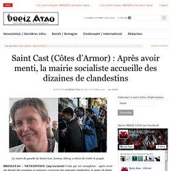 Saint Cast (Côtes d'Armor) : Après avoir menti, la mairie socialiste accueille des dizaines de clandestins