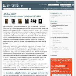 Histoire des mouvements socialistes - SOCIALISME