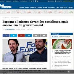 Espagne : Podemos devant les socialistes, mais encore loin du gouvernement