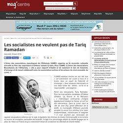 Les socialistes ne veulent pas de Tariq Ramadan