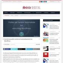 Sociallymap publie maintenant automatiquement sur Wordpress