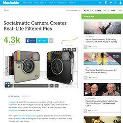 Socialmatic Camera Creates Real-Life Instagram Pics