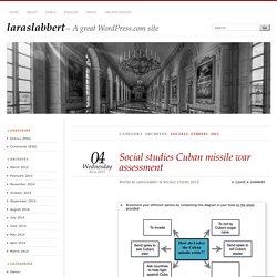 Socials studies 2015