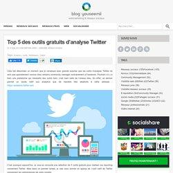 Top 5 des outils gratuits d'analyse Twitter