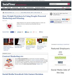 Covering All That's Social on the Web - News, Applications, Open