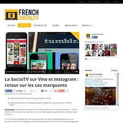 La SocialTV sur Vine et Instagram : retour sur les cas marquants