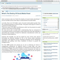 social world panel