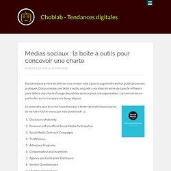Médias sociaux : la boîte à outils pour concevoir une charte