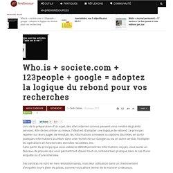 whois + societe.com + 123people = petits outils, grandes enquêtes