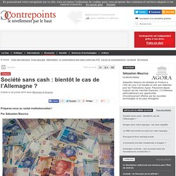 Société sans cash : bientôt le cas de l'Allemagne