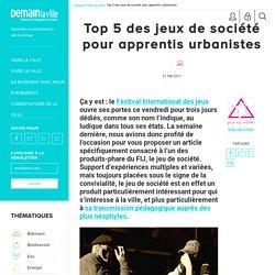 Top 5 des jeux de société pour apprentis urbanistes