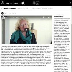 Art et société (Centres d'art et expositions) par Claire Le Restif