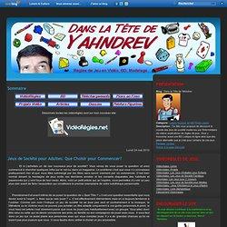 Yahndrev - Jeux de Société pour Adultes